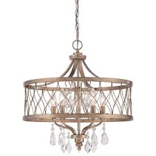 minka lavery west liberty 5 light olympus gold chandelier