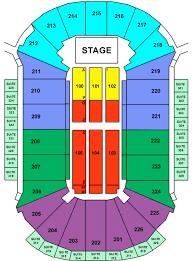 Factual Resch Center Seating Map Seating Chart For Resch Center