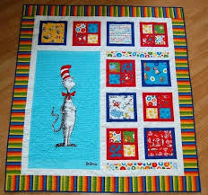 Quilts Using Printed Panels Dr Seuss Quilt More Quilts Made With ... & Quilts Using Printed Panels Dr Seuss Quilt More Quilts Made With Fabric  Panels Pinterest Quilts With Adamdwight.com