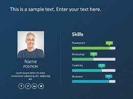 Resume Powerpoint Presentation Use Employee Resume Powerpoint Template To Outline Your