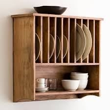 Small Picture Gorgeous Wall Mounted Plate Racks For Kitchens 96 Wall Mounted