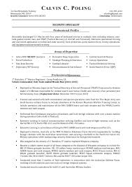 security clearance resume example resume military transition examples aviation electrical security