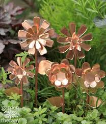 copper garden art. Photo 7 Of Copper Garden Art #7 These Flowers Will Never Stop Blooming A