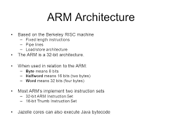 Introduction To Arm Architecture Programmers Model And Assembler