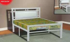Lucas White Twin Platform Bed Sleepys Mattress Double Platform Bed ...
