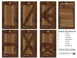 arizona barn doors barn door style selection guide
