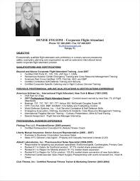 Sample Resume For Cabin Crew With No Experience resume for flight attendant with no experience Vatoz 2