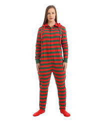 Adult Onesie Pattern Best Elfie Footed Adult Onesie Festive Fun Funzee