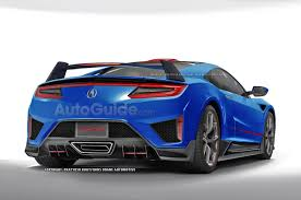 2018 honda nsx type r. delighful type acuransxtyperrender03 for 2018 honda nsx type r x