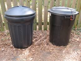 trash can compost bin.  Can The New Bin Is On The Left Inside Trash Can Compost Bin T