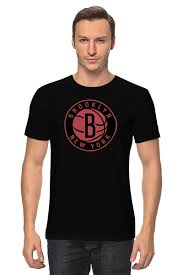 Футболка классическая <b>Brooklyn Nets</b> #649280 от tailors по цене ...