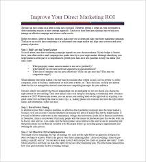 Sales And Marketing Action Plan Template Weekly Marketing Campaign ...