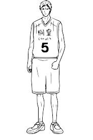 Coloriage Daiki Aomine Kuroko S Basket Imprimer Sur Coloriages Info