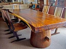 tree trunk table base dining table tree trunk rustic oak tables strikingly design stump round glass