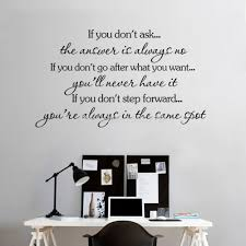 Small Picture Aliexpresscom Buy Inspirational Quotes Wall Stickers Decal Home