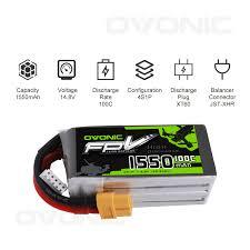 <b>OVONIC</b> FPV LiPo Battery Pack <b>14.8V</b> 1550m- Buy Online in Kenya ...