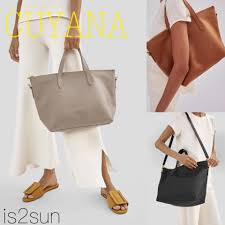 street style a4 2way plain leather office style totes 2019 ss