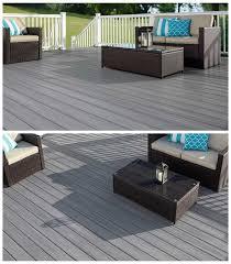 Grey Composite Decking Designs Fiberon Capped Wood Composite Pvc Decking Paramount