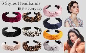 Ondder Knotted Headbands for Women 10 Pcs ... - Amazon.com