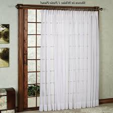 Double Curtains For Sliding Glass Doors Amazing Decoration