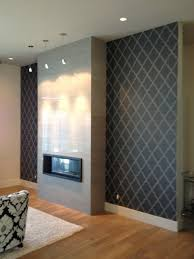 living room fireplace feature wall contemporary living room
