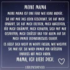 Visual Statements Meine Mama Sprüche Zitate Quotes