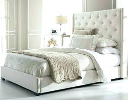 Bohemian Headboard Tufted Bed Frame Headboards Quilted White Wood – RLCI