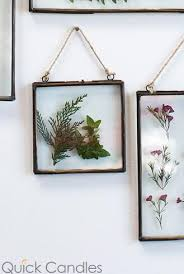 hanging metal double glass frame 6x6 25