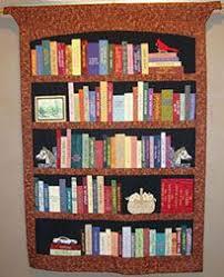 Bookshelf Quilt - PAPER PIECING PATTERN | Paper piecing patterns ... & KHQS Annual Quilt Show Now on View Adamdwight.com