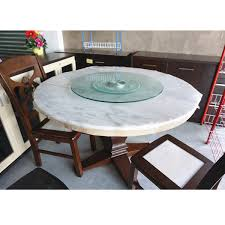 dhome spm 60cm round glass turning top