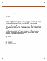 Ms Word Letter Mini Mfagency Co Microsoft Business Template Mail