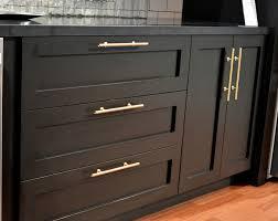 matte black cabinet pulls. Matte Black Cabinets With Brass Hardware/faucets Cabinet Pulls L