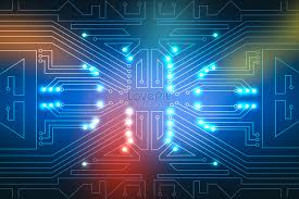 Blue Technology Circuit Background Backgrounds Image_picture Free