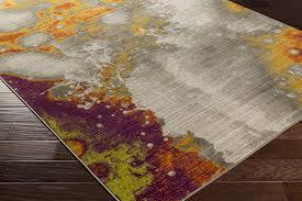 surya jax jax 5024 olive gold burnt orange eggplant lime light grey area rug
