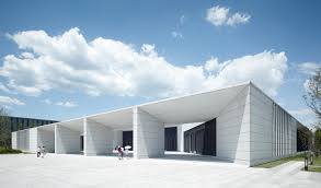architecture buildings. Perfect Buildings Huawei Technological Factory Buildings  Gmp Architects Entrance Of The  Canteen Image  Christian On Architecture