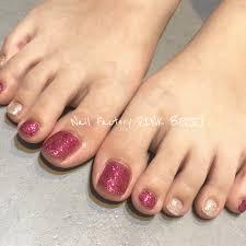 フットネイル 松山市のネイルサロンピンクベリー Pink Berry
