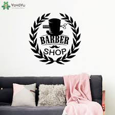 <b>YOYOYU Wall Decal</b> Man Salon Barbershop <b>Vinyl Wall Sticker</b> ...