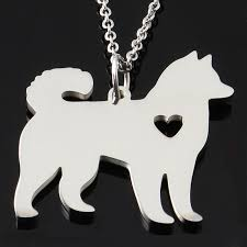 akita snless steel necklace