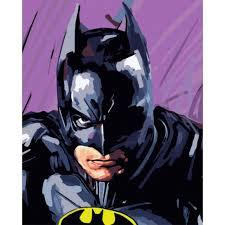 Personalized batman name wall sticker batman wall decor kids   etsy. Batman Paint By Numbers Kit For Adult Kids Gift Acrylic Paint Superhero 40x50cm Ebay