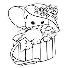Color pictures, email pictures, and more with these cats coloring pages. Top 30 Free Printable Cat Coloring Pages For Kids