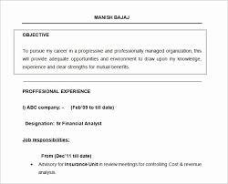 32 Terrific Career Objective For Resume For Fresher Sierra