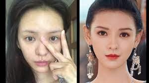 chinese actress without makeup part 2
