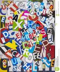 collage fonts free newspaper font collage stock illustration illustration of magazine