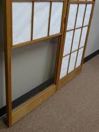 Japanese shoji doors Room Divider Lot 1237 Two Japanese Shoji Doors Orientaldecorcom Two Japanese Shoji Doors
