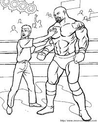 Wwe Coloring Pages Online For Free John Cena Printable Roman Reigns