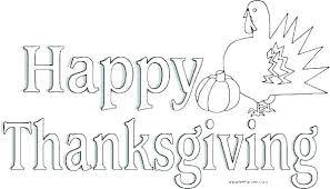 Happy Thanksgiving Coloring Pages Free Thanksgiving Printable