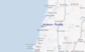 Hudson Florida Tide Station Location Guide