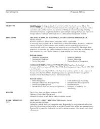 sample resume resumes professional experience regional s hotel and cover letter sample resume resumes professional experience regional s hotel and marketing manager sample s marketing resume