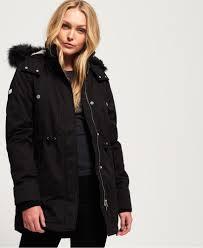 Superdry Uk Size Chart Women S Superdry Model Microfibre Jacket Womens Jackets Coats
