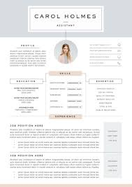 Boutique Owner Resume Resume Template 5 Pages Milky Way By The Resume Boutique